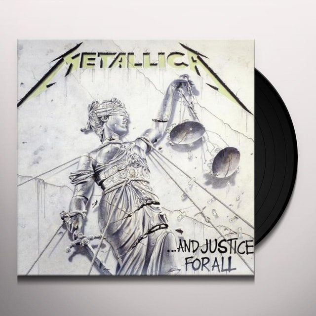 Metallica AND JUSTICE FOR ALL Vinyl Record - Portugal Release