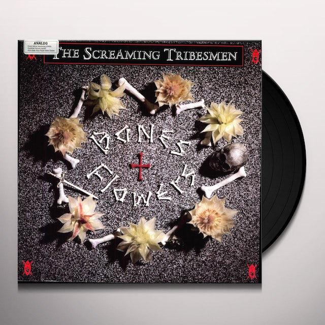 Screaming Tribesmen BONES & FLOWERS Vinyl Record