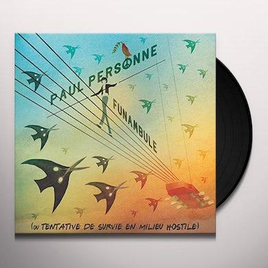 Paul Personne FUNAMBULE Vinyl Record
