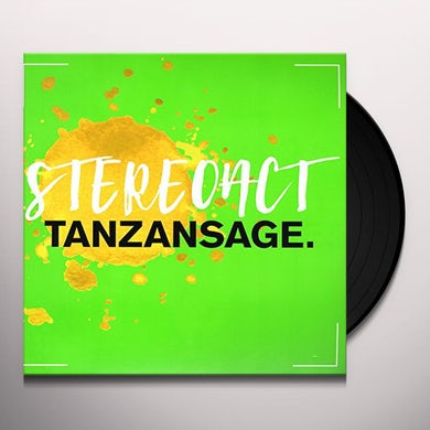 Stereoact TANZANSAGE Vinyl Record