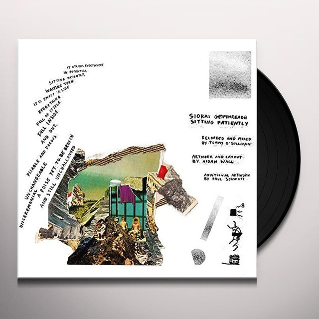 Siorai Geimhreadh SITTING PATIENTLY Vinyl Record