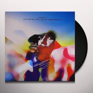 Crazy P LOVE ON THE LINE - ART OF TONES REMIXES Vinyl Record