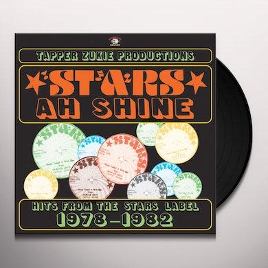 Tapper Zukie STARS AH SHINE: HITS FROM THE STARS LABEL 1978 Vinyl Record