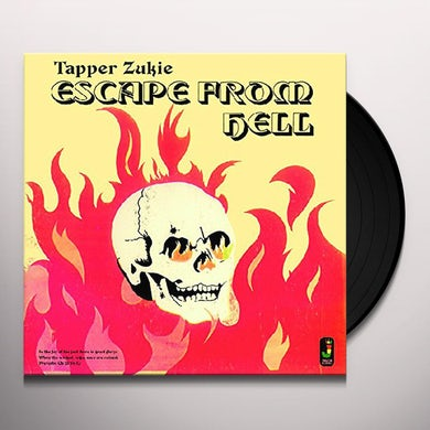Tapper Zukie ESCAPE FROM HELL Vinyl Record