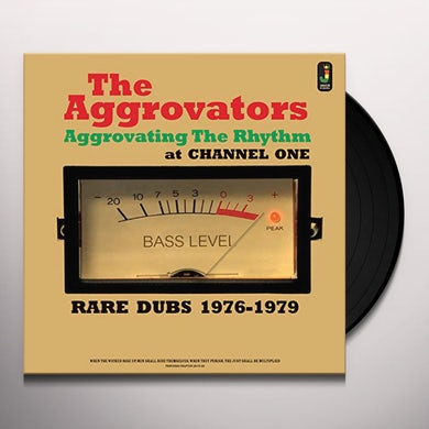 Aggrovators AGGROVATING THE RHYTHM AT CHANNEL ONE Vinyl Record