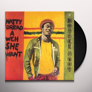 Horace Andy NATTY DREAD A WEH SHE WENT Vinyl Record