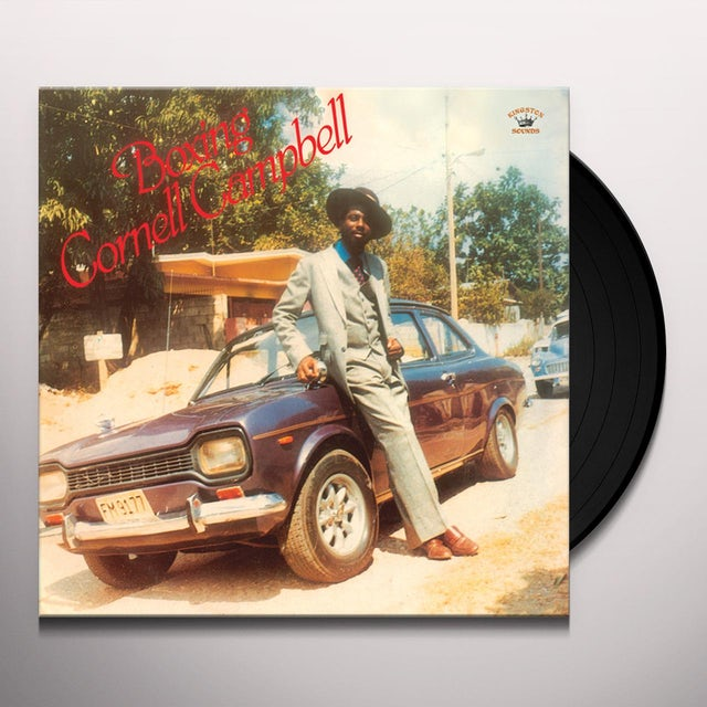 Cornell Campbell BOXING Vinyl Record