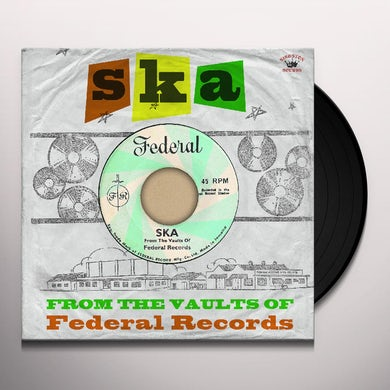 SKA FROM THE VAULTS OF FEDERAL RECORDS / VARIOUS Vinyl Record