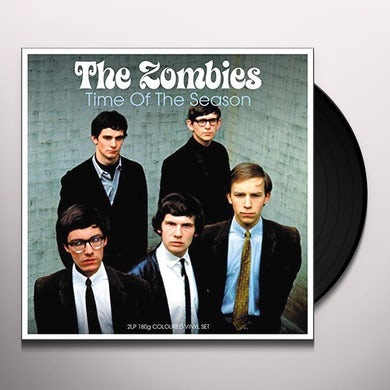The Zombies TIME OF THE SEASON (ELECTRIC BLUE VINYL) Vinyl Record