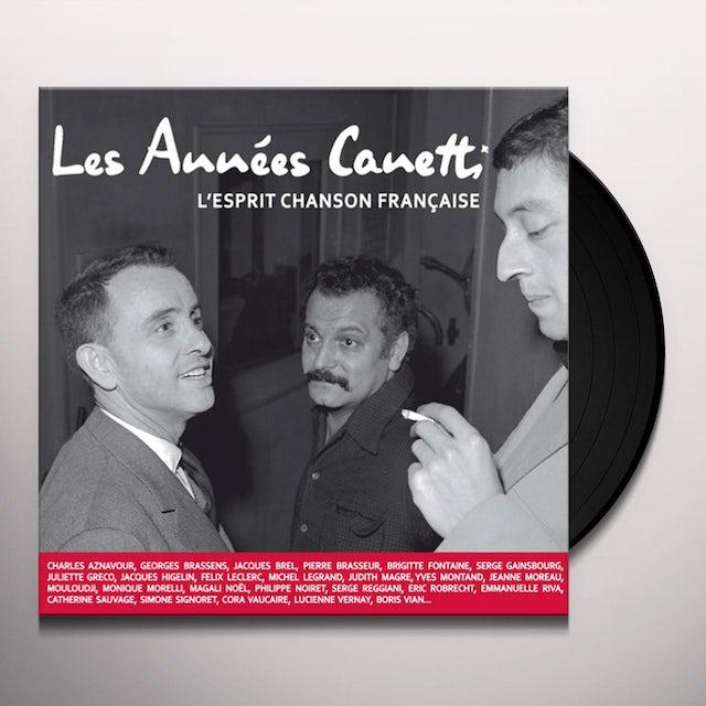 LES ANNEES CANETTI: L'ESPRIT CHANSON FRAN / VAR