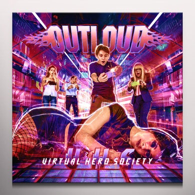 Outloud VIRTUAL HERO SOCIETY - Limited Edition Red Colored Double Vinyl Record