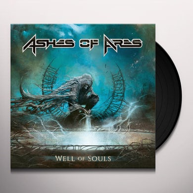 Ashes Of Ares WELL OF SOULS (TURQUOISE/BLACK SPLATTER) Vinyl Record