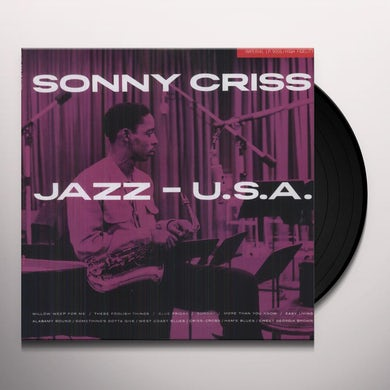 Sonny Criss JAZZ: USA Vinyl Record