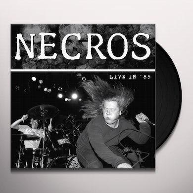 Necros LIVE IN '85 Vinyl Record