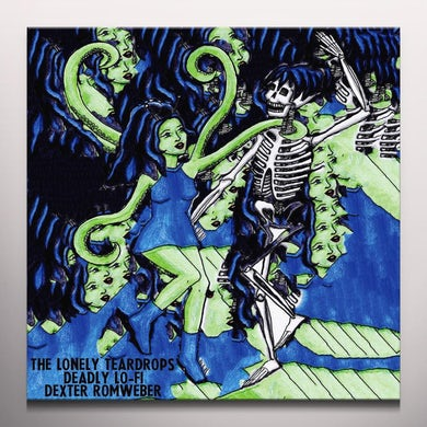 Dexter Romweber / Lonely Teardrops / Deadly Lo-Fi MUCHACHO / CRASH THE PARTY Vinyl Record - Colored Vinyl, Limited Edition, Digital Download Included