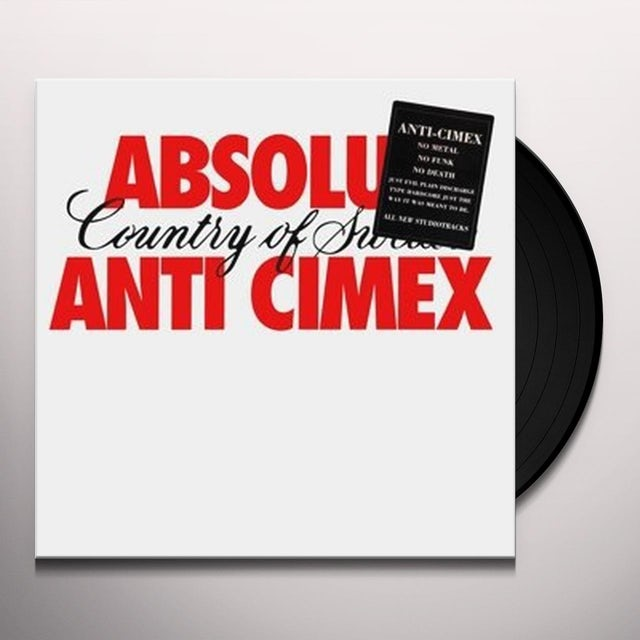 ANTI CIMEX ABSOLUT COUNTRY OF SWE Vinyl Record