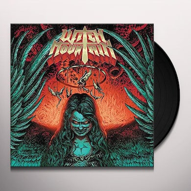 WITCH MOUNTAIN: SWAMP GREEN MOBILE OF ANGELS Vinyl Record