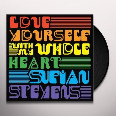 Sufjan Stevens LOVE YOURSELF / WITH MY WHOLE HEART Vinyl Record