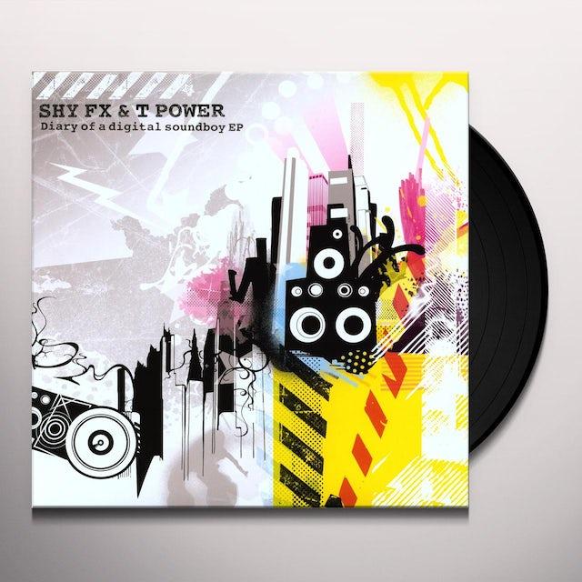 Shy Fx.Shy Fx & T Power DIARY OF A DIGITAL SOUNDBOY Vinyl Record