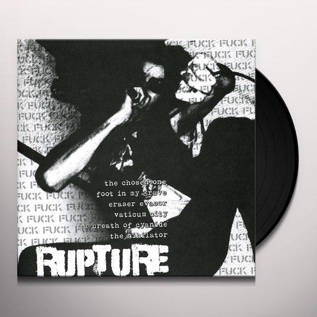 Brutal Truth/Rupture SPLIT Vinyl Record
