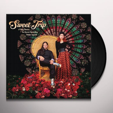 Sweet Trip TINY HOUSE IN SECRET SPEECHES POLAR EQUALS-COVER A Vinyl Record