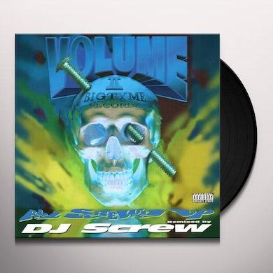 DJ Screw ALL SCREWED UP (VOLUME 2) Vinyl Record