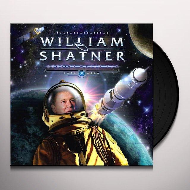 William Shatner SEEKING MAJOR TOM Vinyl Record