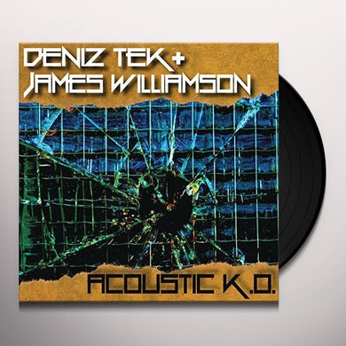 Deniz Tek ACOUSTIC K.O. Vinyl Record