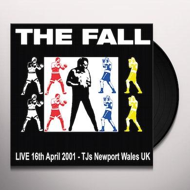 Fall LIVE TJ'S NEWPORT 04/16/01 Vinyl Record