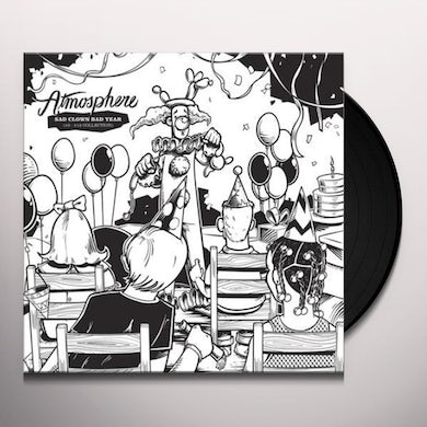 Atmosphere SAD CLOWN BAD YEAR (#9-#12 COLLECTION) - Limited Edition Black & White Colored Vinyl Record