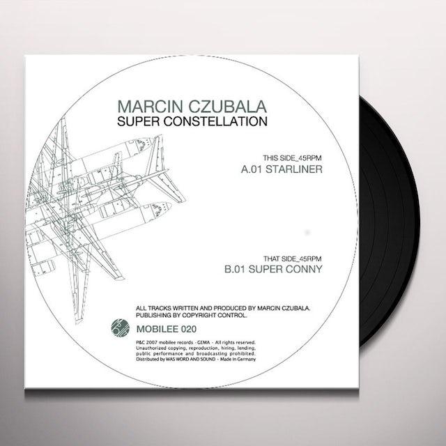 Marcin Czubala SUPER CONSTELLATION Vinyl Record