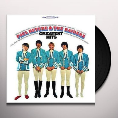 Paul Revere & Raiders GREATEST HITS Vinyl Record
