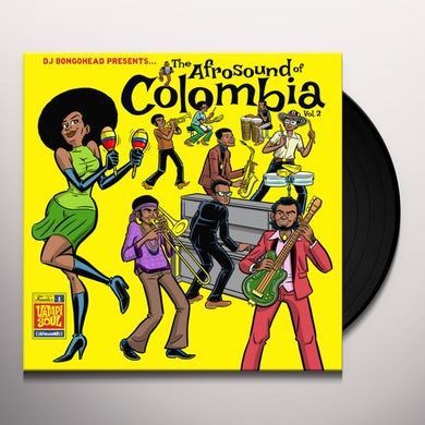 AFROSOUND OF COLOMBIA 2 / VARIOUS Vinyl Record