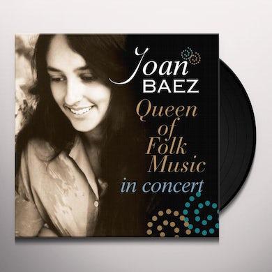 Joan Baez IN CONCERT Vinyl Record - Gatefold Sleeve, Limited Edition, 180 Gram Pressing, Spain Release
