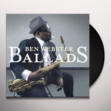 Ben Webster BALLADS Vinyl Record - Gatefold Sleeve, Limited Edition, 180 Gram Pressing, Special Edition, Spain Release