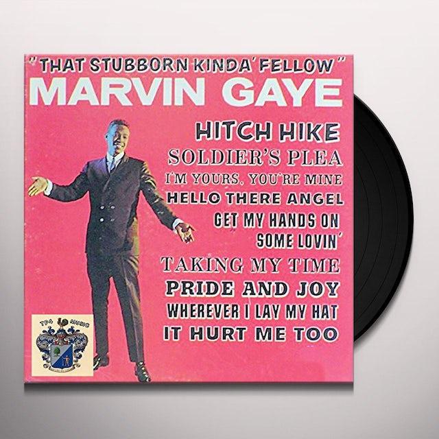 Marvin Gaye THAT STUBBORN KINDA FELLOW + 2 BONUS TRACKS Vinyl Record - 180 Gram Pressing