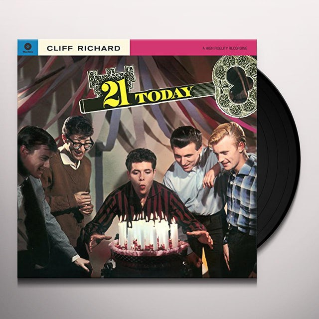 Cliff Richard 21 Today Vinyl Record 180 Gram Pressing