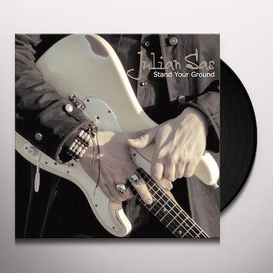 Julian Sas STAND YOUR GROUND Vinyl Record