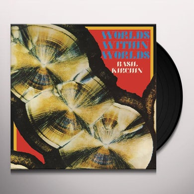 Basil Kirchin WORLDS WITHIN WORLDS Vinyl Record