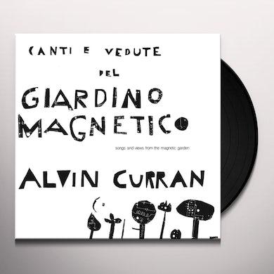 Alvin Curran CANTI E VEDUTE DEL GIARDINO MAGNETICO Vinyl Record