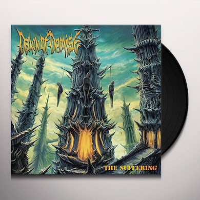 Dawn of Demise SUFFERING Vinyl Record
