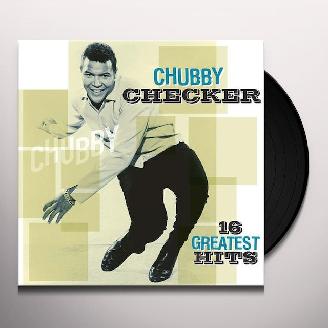 Chubby Checker 16 GREATEST HITS Vinyl Record - Holland Release