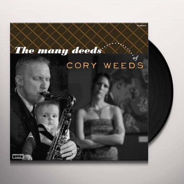 Cory Weeds / Joey Defrancesco MANY DEEDS OF CORY WEEDS Vinyl Record