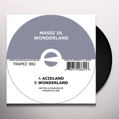 Massi Dl WONDERLAND Vinyl Record