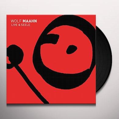 Wolf Maahn LIVE UND SEELE Vinyl Record