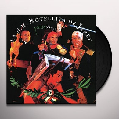 Botellita de Jerez FORJANDO PATRIA Vinyl Record