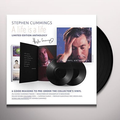 Stephen Cummings LIFE IS A LIFE: ANTHOLOGY Vinyl Record