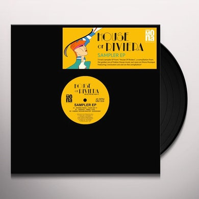 HOUSE OF RIVIERA: SAMPLER / VARIOUS Vinyl Record