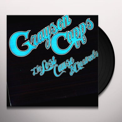Grayson Capps LOST CAUSE MINSTRELS Vinyl Record