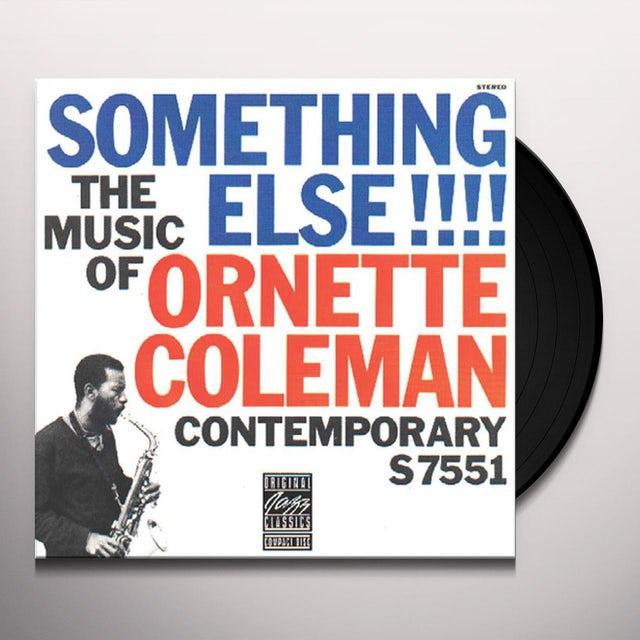SOMETHING ELSE: THE MUSIC OF ORNETTE COLEMAN Vinyl Record